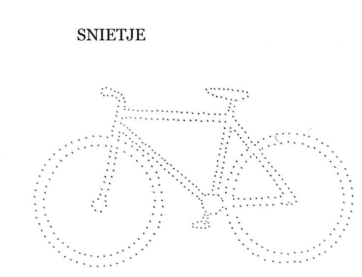 Bicycle Tin Punch Pattern