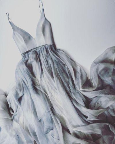 Rain cloud dress by Leanne Marshall