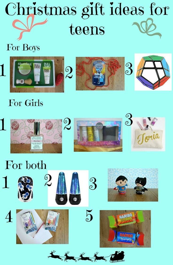 Christmas Gift Ideas for Teens - A selection of different Christmas present ideas for the teenager in your life