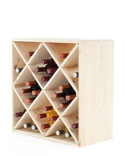 Regał na wino RW-6-5 60x60x30 - Seria RW-6 - Regały na wino
