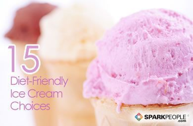 Want ice cream but on a diet? 15 Diet-Friendly Ice Cream Choices for Summer #foodgasm #summer2016