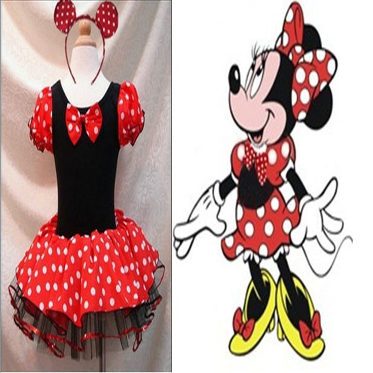 17.90$  Watch now - http://alifnh.shopchina.info/go.php?t=32721066313 - Cute Minnie Baby Girls Red Christmas Dress Headband Vestidos Infant Party Dress Children Clothing Toddler Girl Christmas Outfits 17.90$ #buyonline