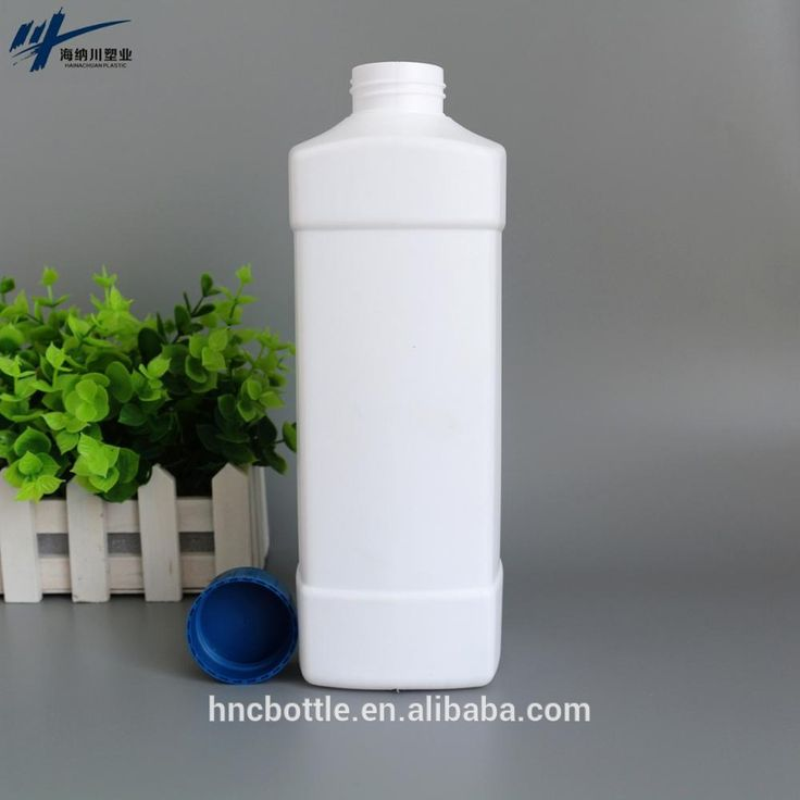 Whosale 2 litre HDPE food container disposable square plastic bottles liquid /yoghourt food storage containers