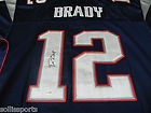 TOM BRADY Patriots AUTOGRAPHED Home Jersey NEW w Matching Hologram and COA