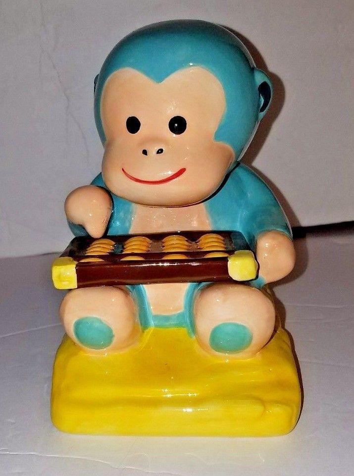 Monkey Piggy Bank Wells Fargo Blue Chinese Year Of The Monkey Fortune 2016 #WellsFargo