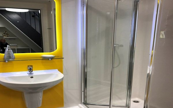 All of our rooms come with a stylish en-suite shower room