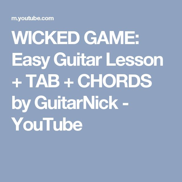 Heidi Keppert From Home: 25+ Best Ideas About Wicked Game On Pinterest