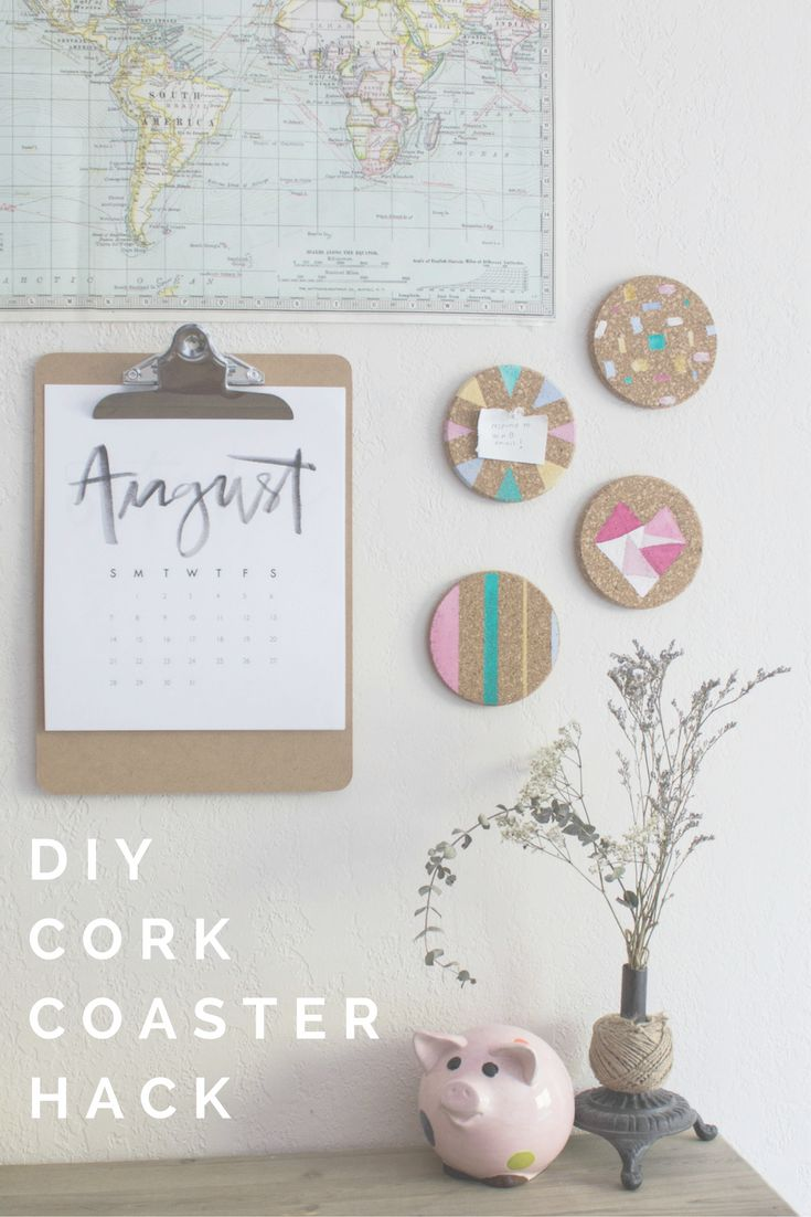 Diy Wall Art Dorm : Ideas about cork coasters on wine