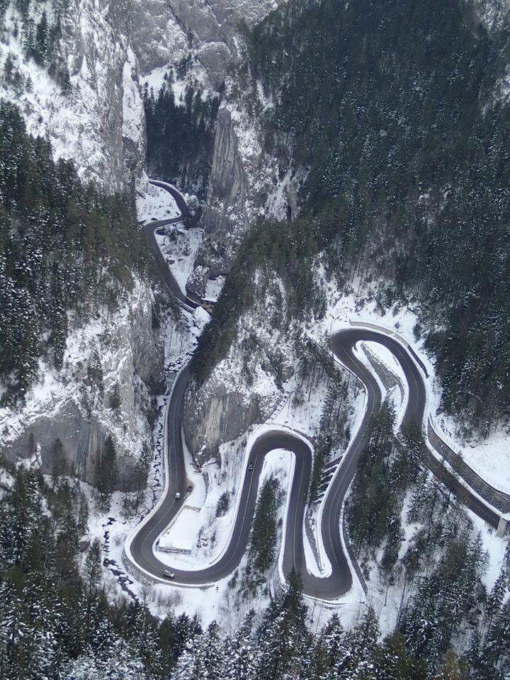 Cheile Bicazului, the Carpathians, Romania