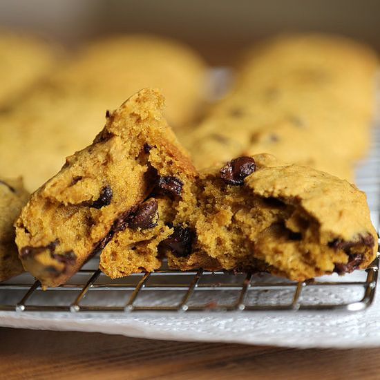 Forget the PSL! Let's Talk About Pumpkin Chocolate Chip Cookies: Take pumpkin, pair it with chocolate chip cookies, and there's no doubt it's a winning dessert recipe.
