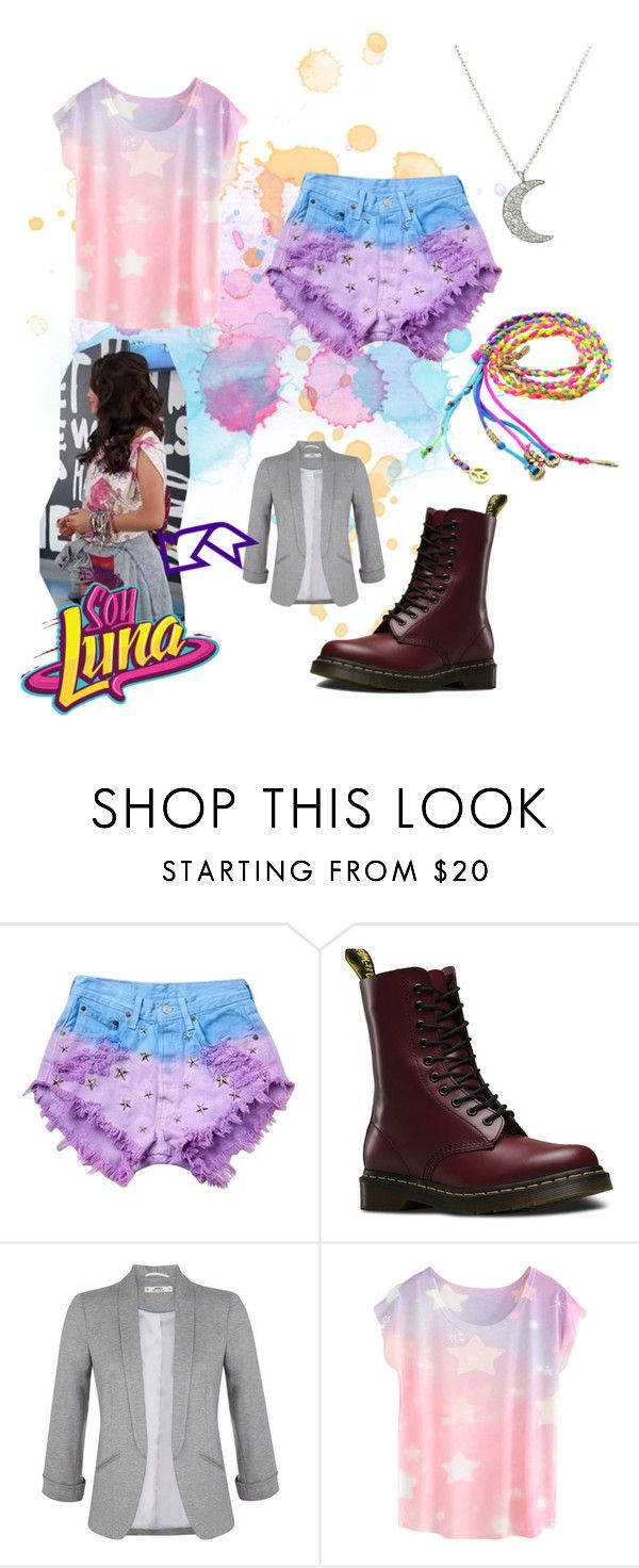 """soy luna"" by maria-look on Polyvore featuring Runwaydreamz, Dr. Martens and Miss Selfridge"