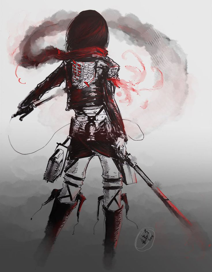 Attack on Titan ~~ Mikasa :: [ As Strong as 100 Men by lllannah ]