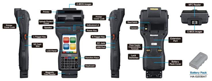 Casiı IT-9000 El Terminali -  http://www.desnet.com.tr/casio-it-9000-el-terminali.html