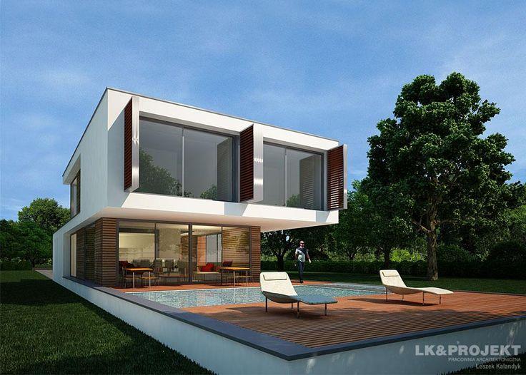 Projekty domów LK&Projekt LK&994 wizualizacja 4