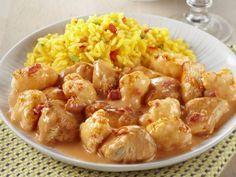 Bloemkool kip tandoori voor 4 personen Aantal kcal: ca. 660 p.p.