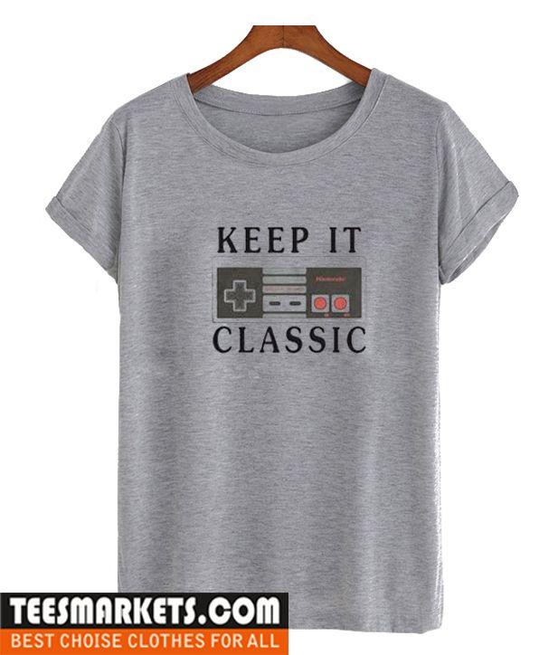 Nintendo Keep It Classic T Shirt V 2019 G Famous T Shirt Ever