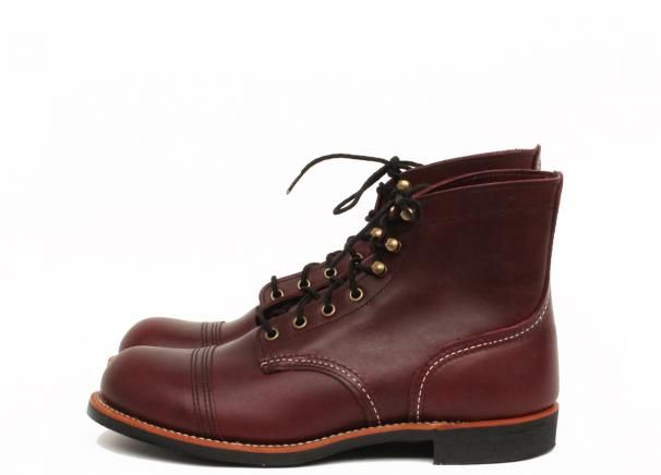 Red Wing Shoes 8119 - Iron Ranger Oxblood