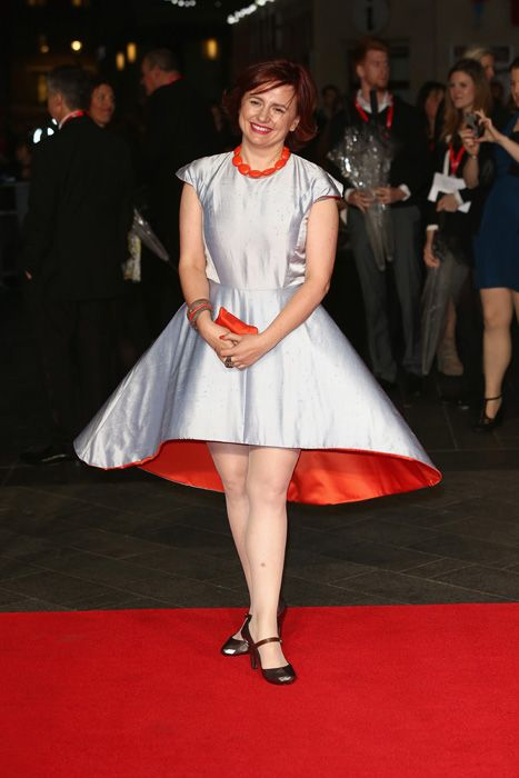 Clare Stewart at the London Film Festival premiere of Captain Phillips