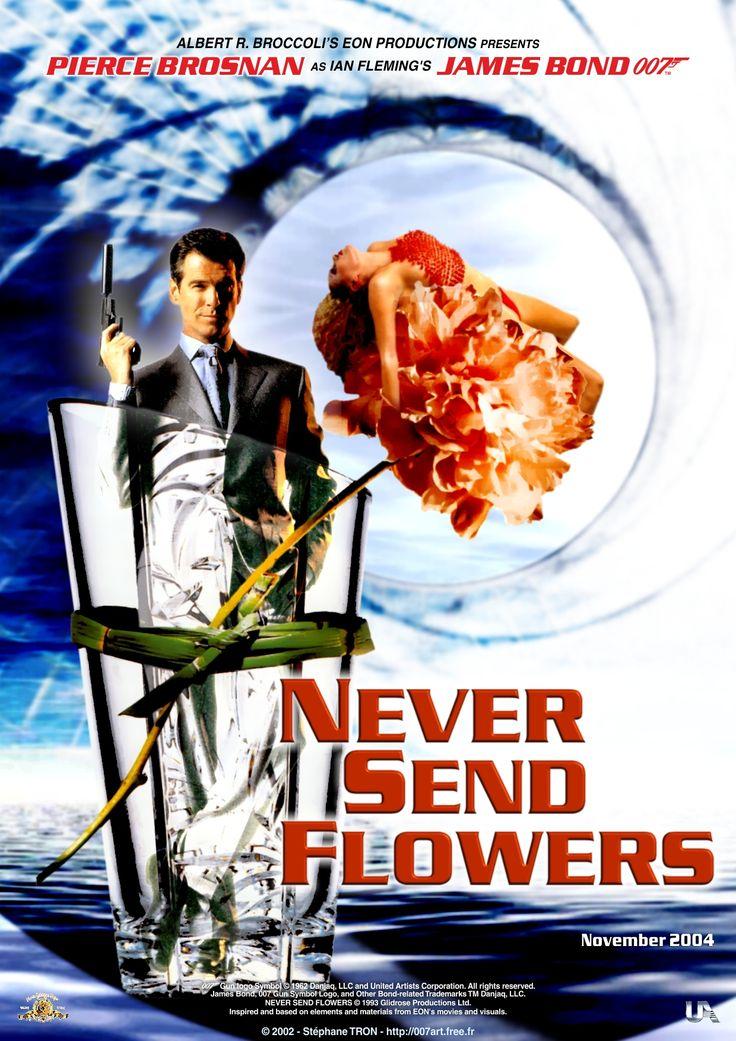 John Gardner - 'Never Send Flowers' - Poster 1