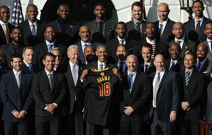 Sights from the Cavs White House Visit