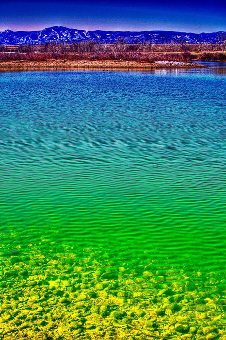 Eaglewatch Lake, South Platte Park, Littleton, Colorado; photo by David Patterson