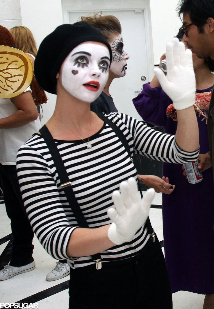 Christina Ricci as a Mime