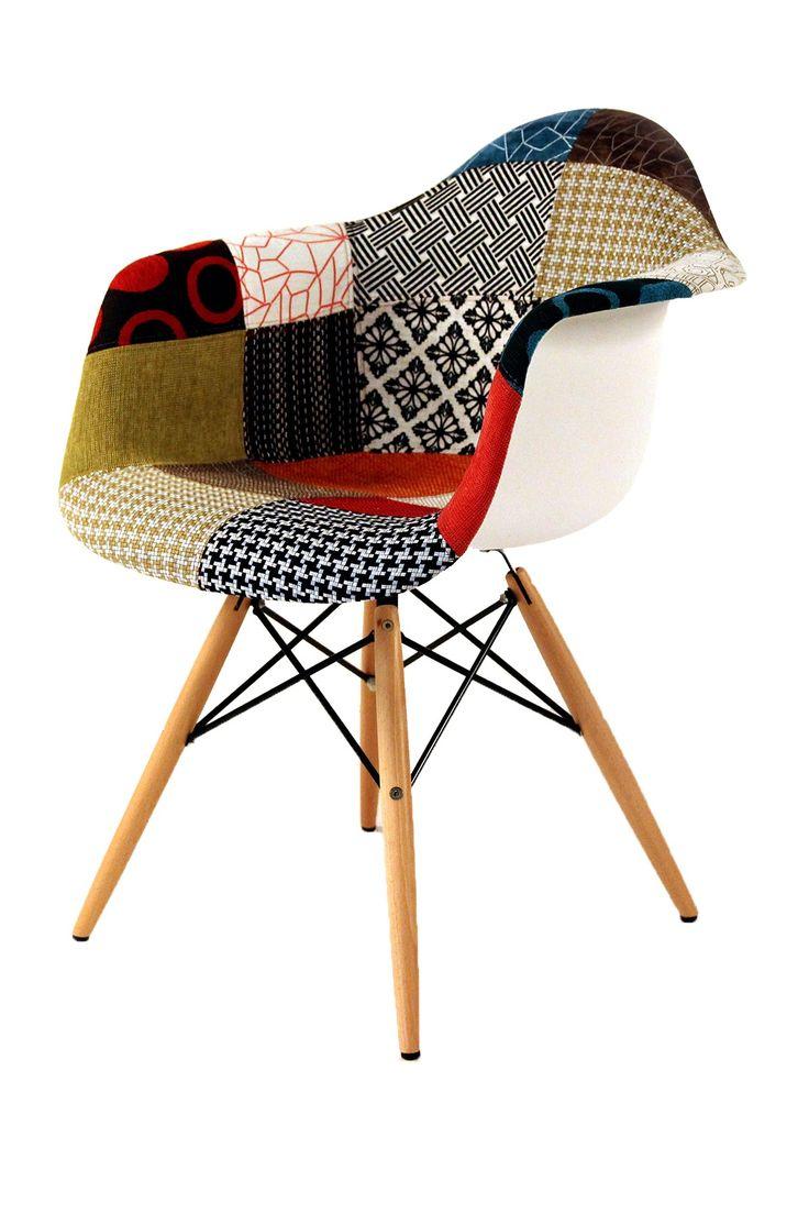 Mid Century Wooden Dowel Leg Armchair by Control Brand on @HauteLook