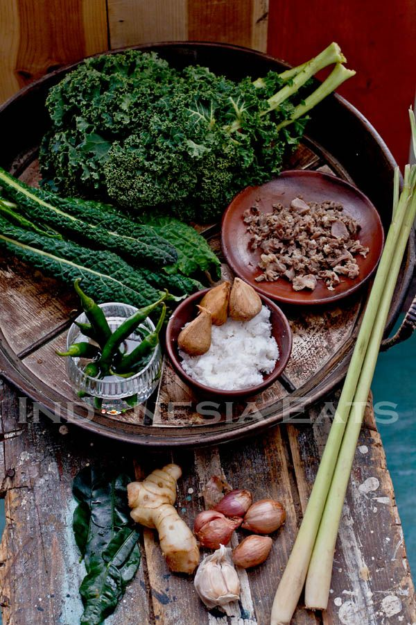 Tasak Telu -  karonese food