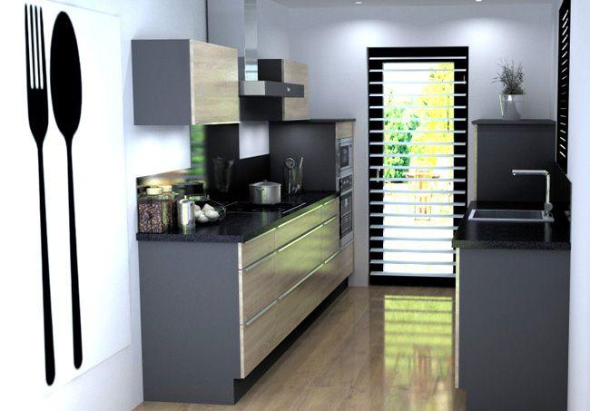 Avantages et inconvénients d'une implantation d'une cuisine en I I (en parallèle), type cuisine en couloir.