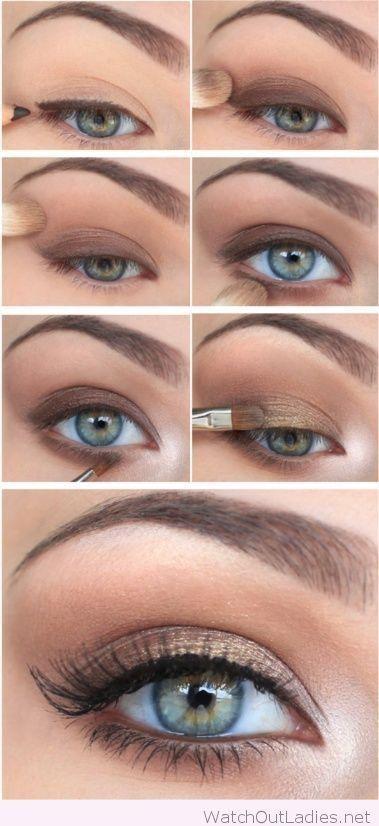 How To Do Make Up, Make Up Tips – Makyaj nasıl yapılır ? Göz Makyajı Anlat…