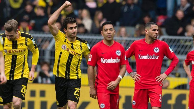 Sokratis Papastathopoulos dedicates goal for Dortmund to Marc Bartra