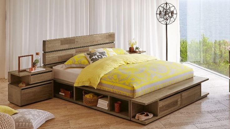 Random Low Queen Bed