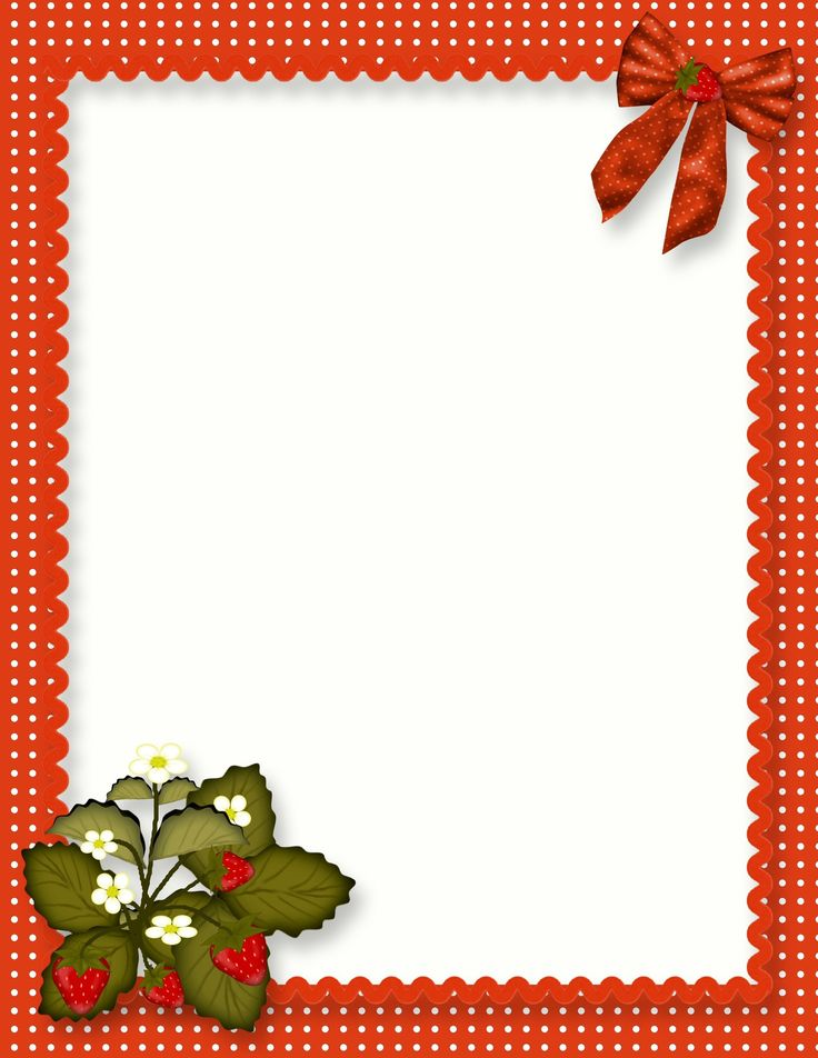 free blank quick page strawberry recipe page