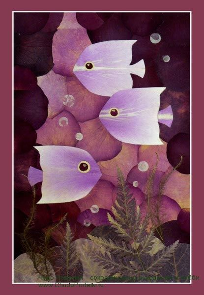 Красивые поделки из листьев и цветов. Аппликации из листьев деревьев. Мастер класс как сделать розы из кленовых листьев.