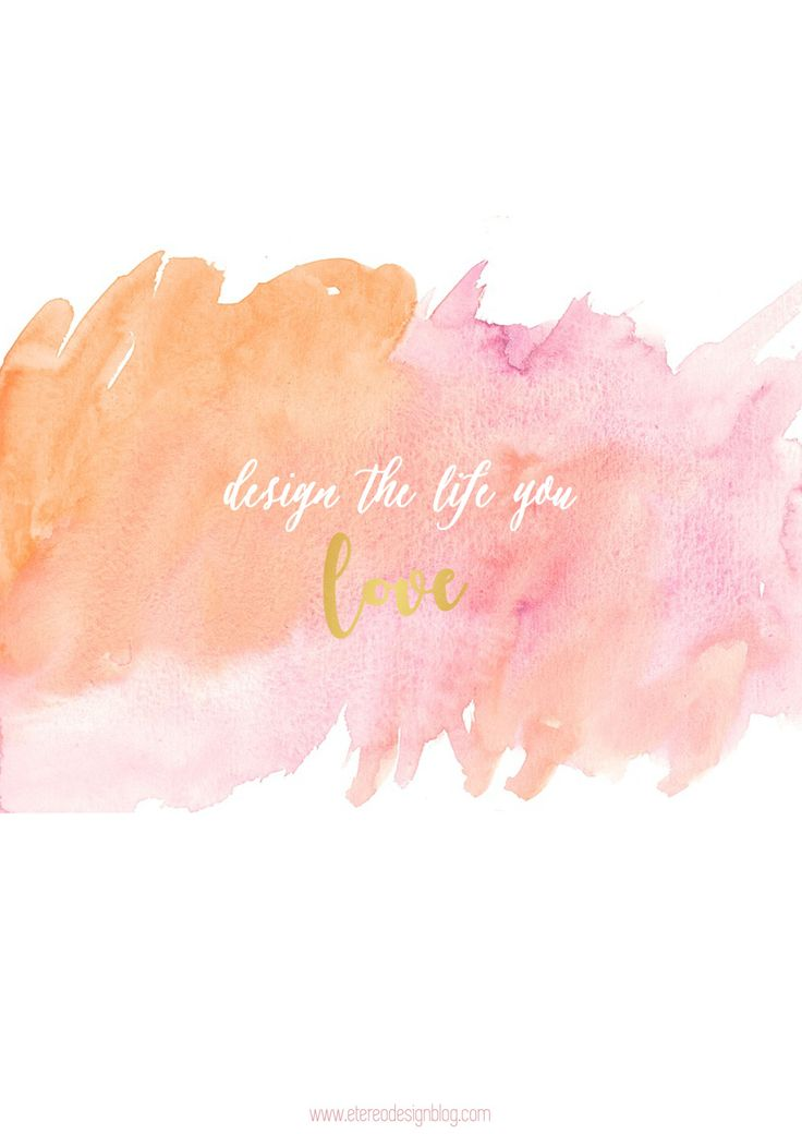 printable gold watercolor free decor