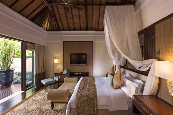 Gardenia Villa Bedroom at St. Regis Bali