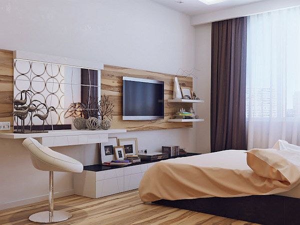 Interior ideas: Modern bedroom design sparkles with cozy ambience