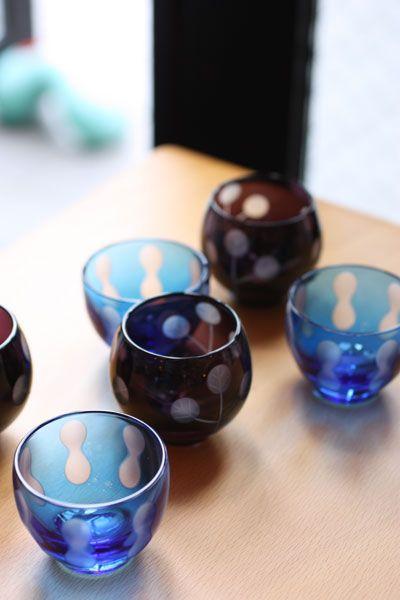 Japanese tableware / 江戸切子(edo kiriko)