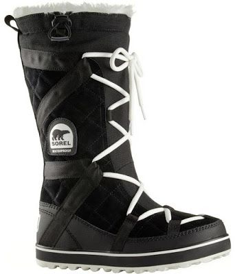 The Sorel Glacy Explorer Boot is made from with a waterproof, breathable membrane so you can rest assure that  the suede leather and canvas fabric will keep unwanted moisture away from your feet.