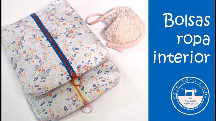 Bolsas para ropa interior, ideas para viajar