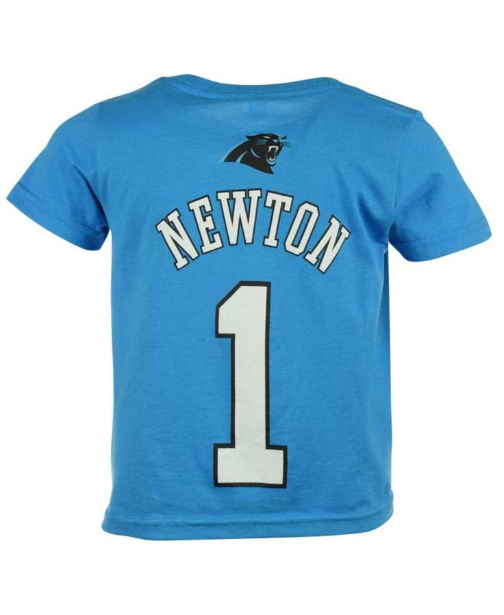 Outerstuff Cam Newton Carolina Panthers Mainliner Player T-Shirt, Toddler Boys' (2T-4T)