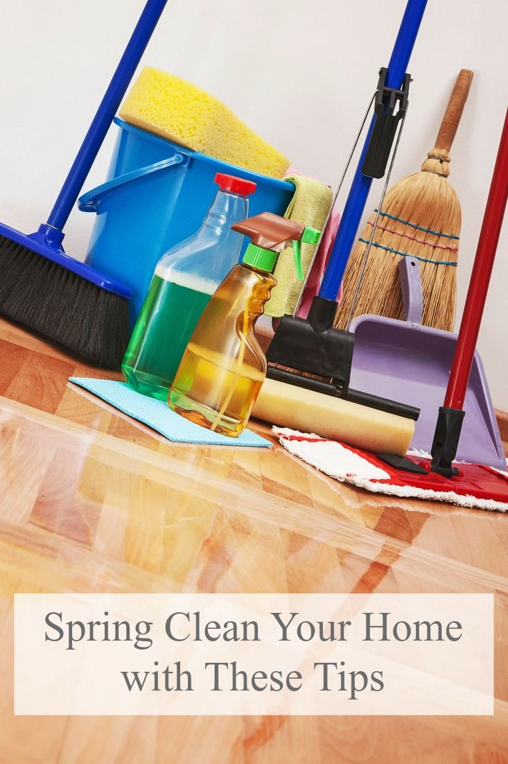 Get your home or vacation rental property ready for spring and summer using these cleaning tips!