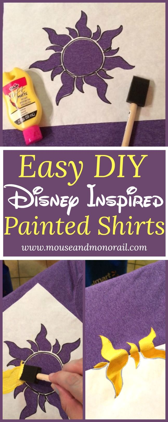 Disney Craft Make your own shirts