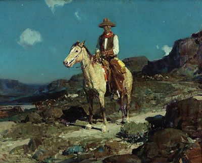 Frank Tenney Johnson - Auction results - Artist auction records