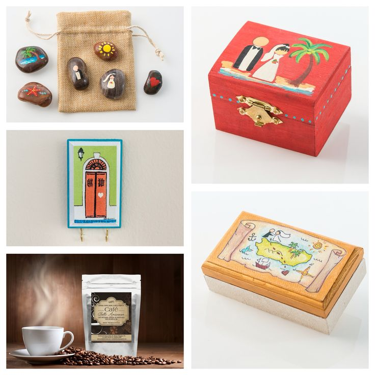 100% hand crafted wedding favors. Destination wedding Puerto Rico. Wedding favors, party favors ideas. Puerto Rican gifts ideas.