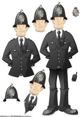 police decoupage - Google Search