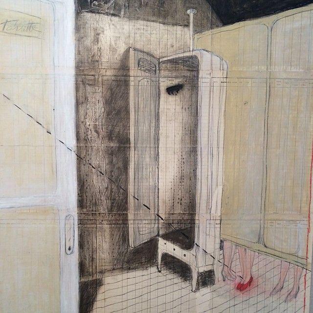 Lucia Pescador at Wook & Lattuada Gallery opening tonight! Open till May 31st. http://wooklattuada.com #luciaPescador #art #nyc #wook&am...