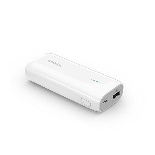 Anker Astro E1 5200mAh Ultra Compact Portable Charger  External Battery Power Bank with PowerIQ Technology for iPhone, iPad, Samsung, Nexus, HTC and More (White) - http://pay-monthly-phones-on-02.co.uk/product/anker-astro-e1-5200mah-ultra-compact-portable-charger-external-battery-power-bank-with-poweriq-technology-for-iphone-ipad-samsung-nexus-htc-and-more-white/