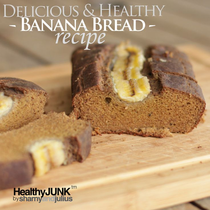 Healthy Banana Bread Recipe | Sharny and Julius
