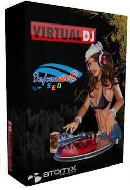 Virtual DJ Pro  v8.0.2177 (Español), Mezclador de Música Profesional El programa está desarrollado en una interface bastante fácil de usar. Tras pasar unos minutos aprendiendo todas las opciones que ofrece Virtual DJ, podrás empezar a usarlo con todos los temas q selecciones.